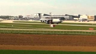 Lockheed C-5A Galaxy Roaring Take Off @ Stuttgart (STR) 09.04.2011