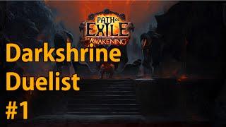 Theorycrafting & Hailrake - Ep #1 - Hardcore Duelist - Path of Exile: Darkshrine League