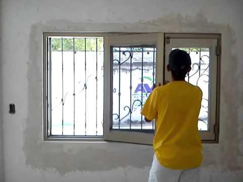 Ventana plegable de aluminio youtube for Cuanto cuesta el aluminio para ventanas