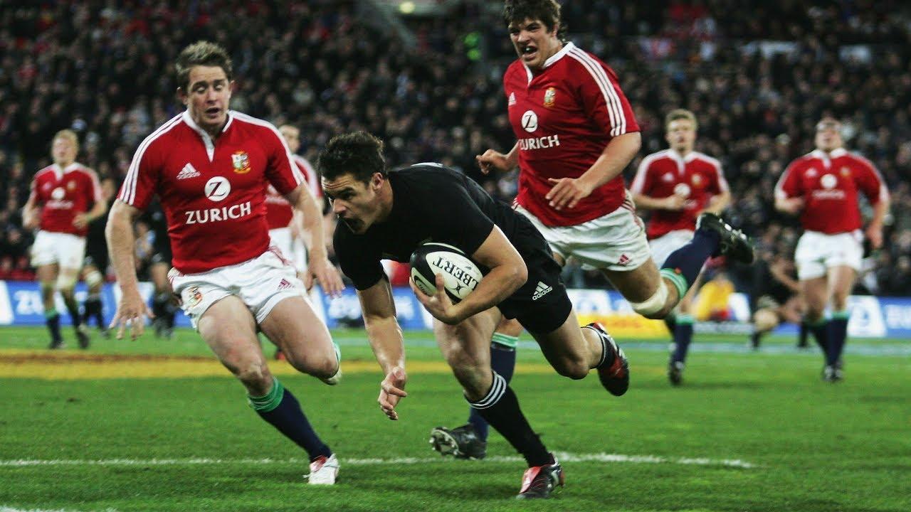 3b3247c185c HIGHLIGHTS: All Blacks v British & Irish Lions 2nd Test - YouTube