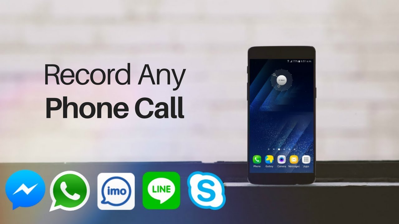 How to Record Any Phone Call, WhatsApp, Skype, IMO, Facebook etc