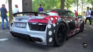 2018 Audi R8 V10 Plus ABT Sportsline! LOUD REVS & Acceleration Sounds!