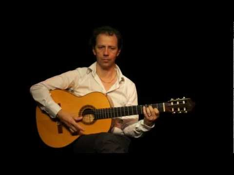 Flamenco Spanish Guitar Mathilda's Rumba. Musical scale variation Tutorial (french version)