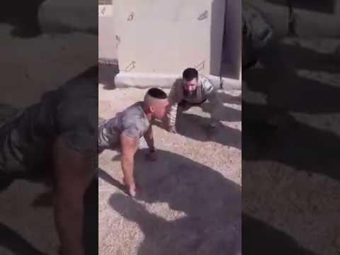 تحدي بين امريكي وعراقي ابو الغيره💪💪 thumbnail
