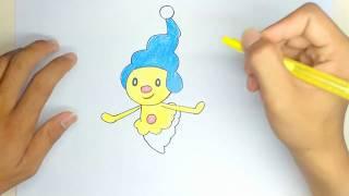 How to Draw Mime Jr. From Pokémon