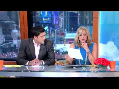 Susie Essman at ABC's Good Afternoon America wearing CLARA SUNWOO .mov