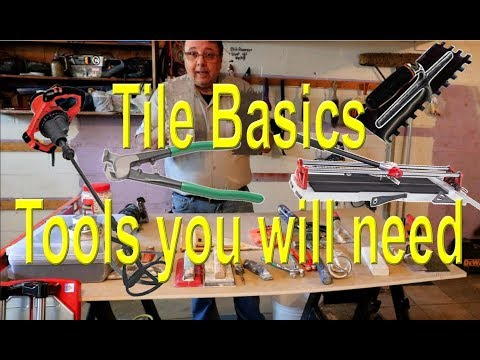🔨Tile basics, tools you  need.🔨