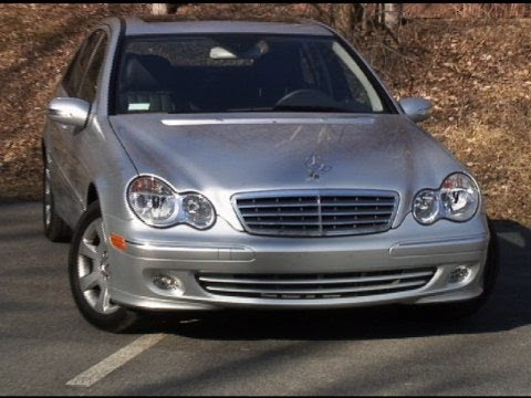 2001-2007 mercedes-benz c-class pre-owned vehicle review