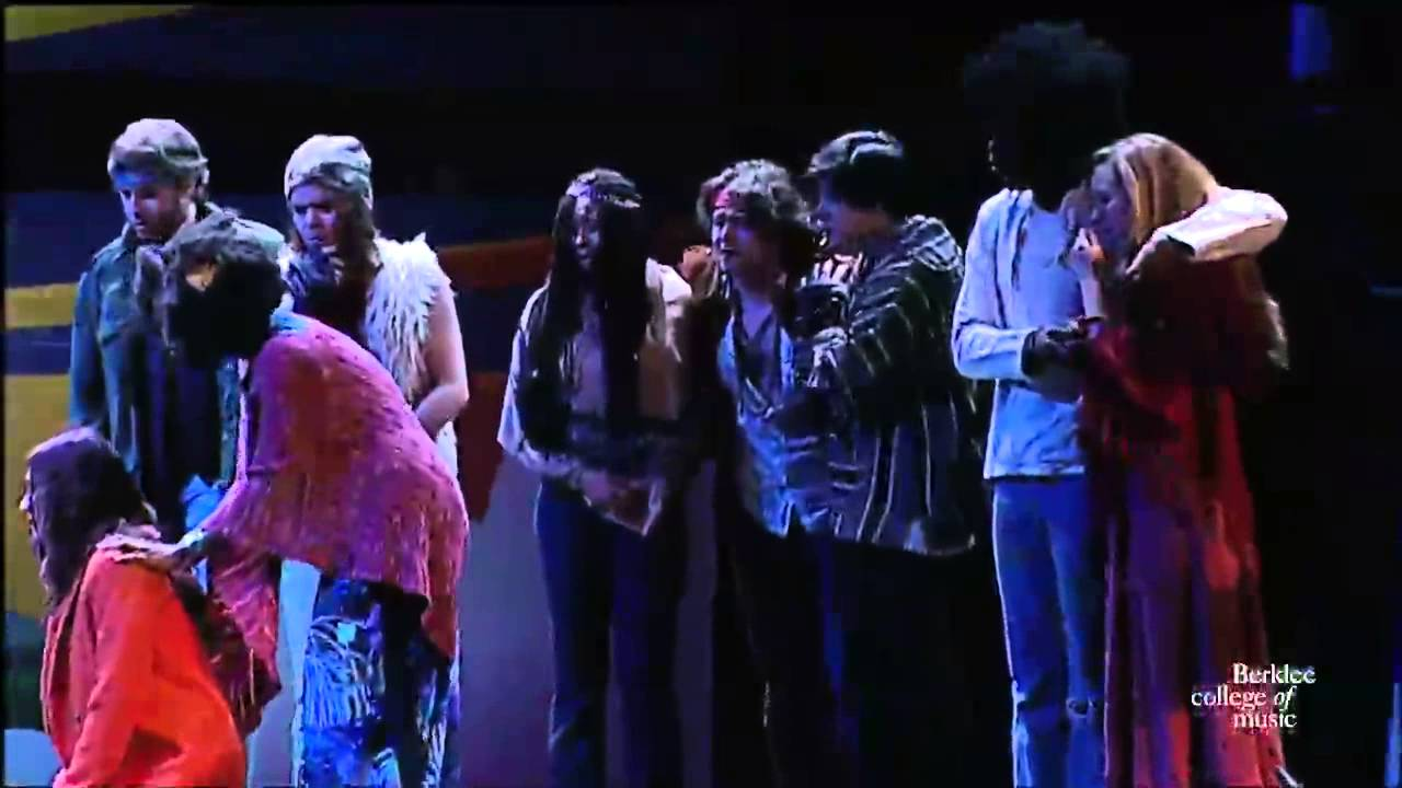 Hair Let The Sunshine In Live At The Berklee Performance Center Youtube
