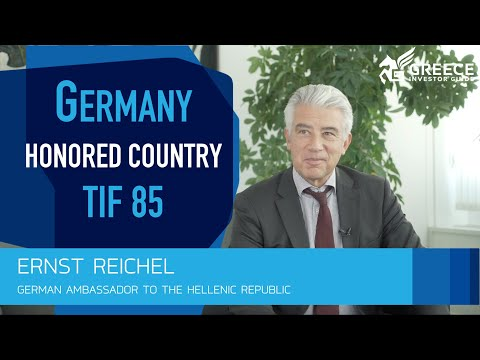 Ernst Reichel, German Ambassador to Greece - Greece Investor Guide (1)