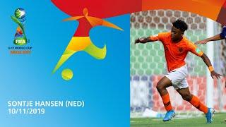 Hansen v Paraguay [GOAL OF THE TOURNAMENT] - FIFA U17 World Cup 2019