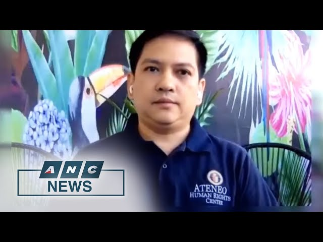 Ateneo Human Rights Center: Police lapses in PH Drug War add credence to prosecution before ICC