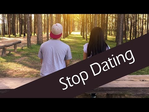 how to stop dating someone after three dates