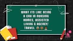 CNA Nursing home vs AL vs Agency