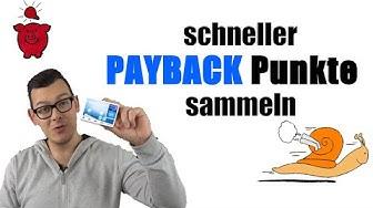 Schneller Payback Punkte sammeln - Tipps & Tricks