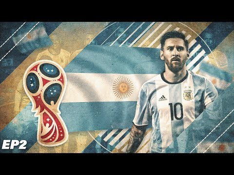 FIFA 18 Argentina World Cup 2018 Career Mode - EP2 - Insane Penalty Shootout!!