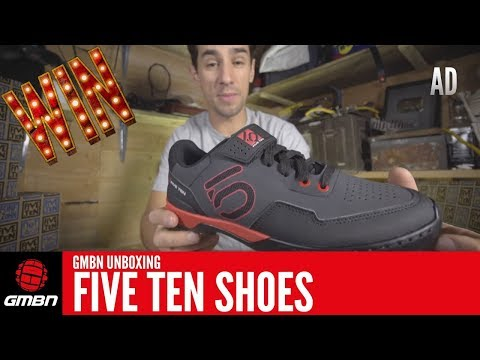 GMBN Unboxing Five Ten Mountain Bike Shoes