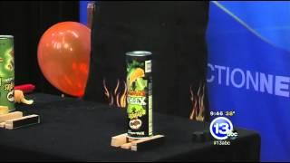 Exploding Pringles