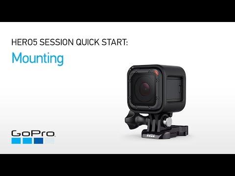 GoPro: HERO5 Session Quick Start - Mounting