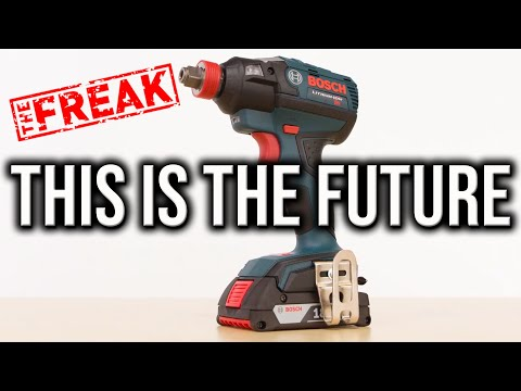 Bosch Tools FREAK Impact Driver And Wrench The Future Of Cordless Tools