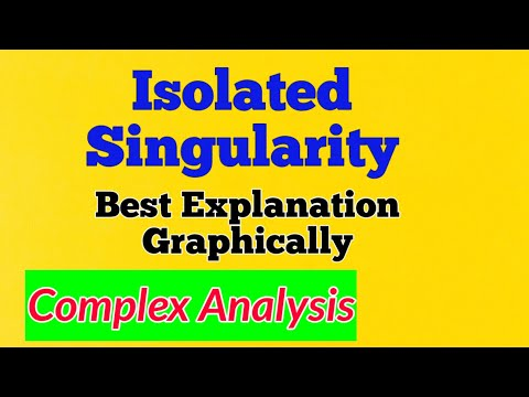 #3 Isolated Singularity|complex analysis video lectures