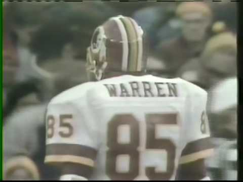 L.A. Rams vs Washington Redskins 1986 Wildcard Playoffs