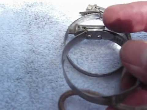 Hose Clamp Different Types By Froggy Youtube
