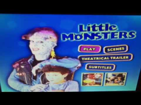 Opening to Little Monsters 2004 DVD