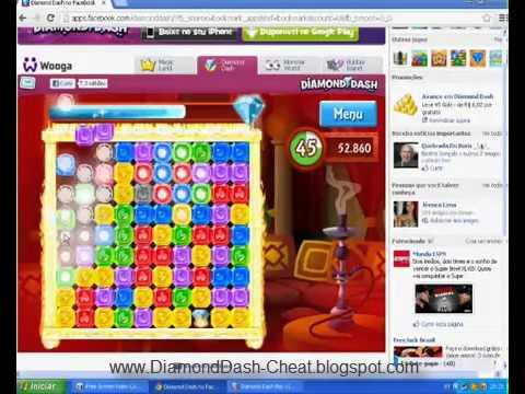 Hack Diamond Dash Cheat - 2013 [UPDATE V2.0]