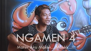 NGAMEN 4 (Ambon) WASU LIVE COVER | Mater aku mak mak...!!!