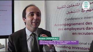 Entretien avec M. Anass DOUKKALI, Directeur Général de l'ANAPEC