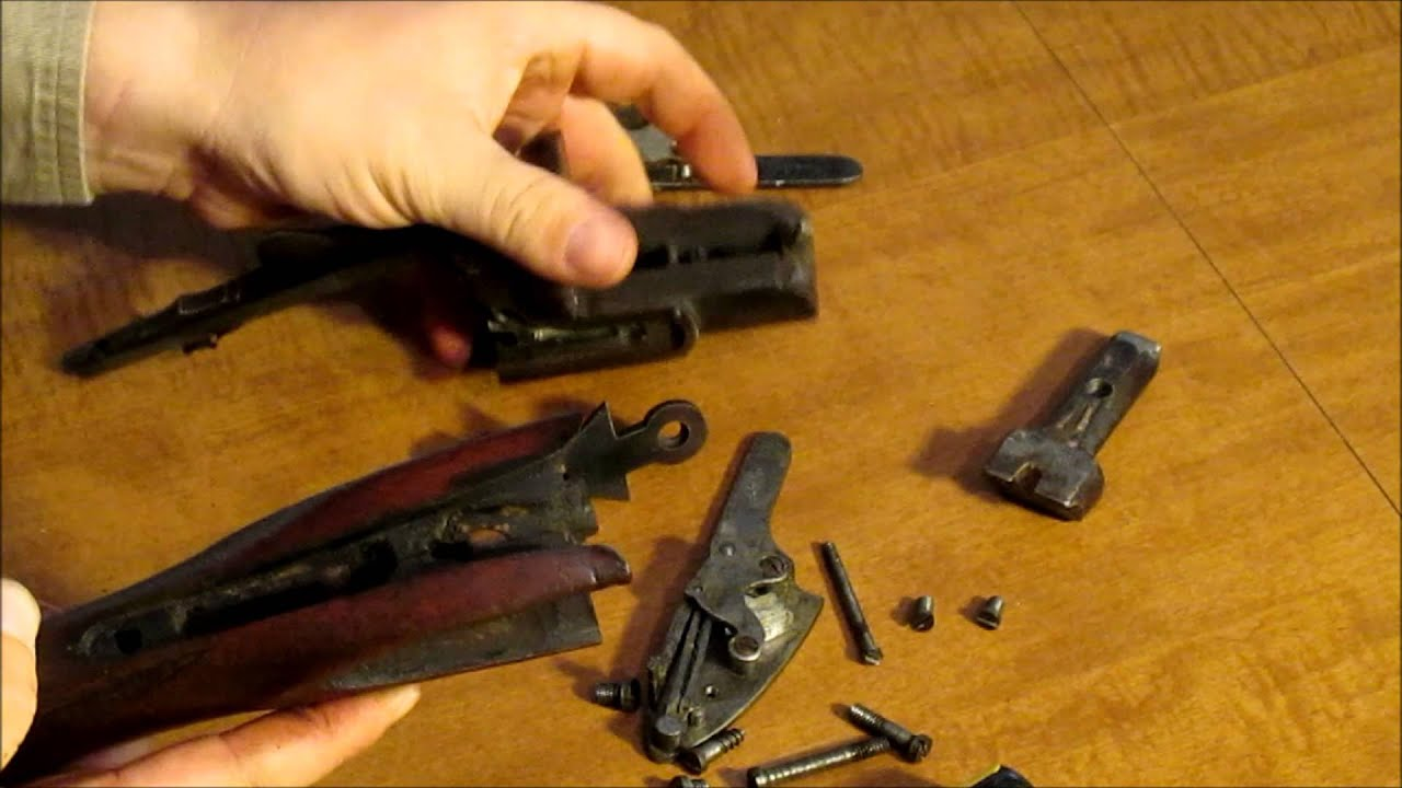 Taking Apart An Old Double Barreled Shotgun Youtube 1911 Barrel Schematic Diagram Get Free Image About Wiring