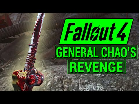 FALLOUT 4: How To Get GENERAL CHAO'S REVENGE Sword In Fallout 4! (Unique Weapon Guide)