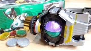 仮面ライダーバースに変身 & 全武装サウンドが鳴る!DXバースドライバー レビュー!サソリ・カニ セルメダル付属  オーズ/ooo