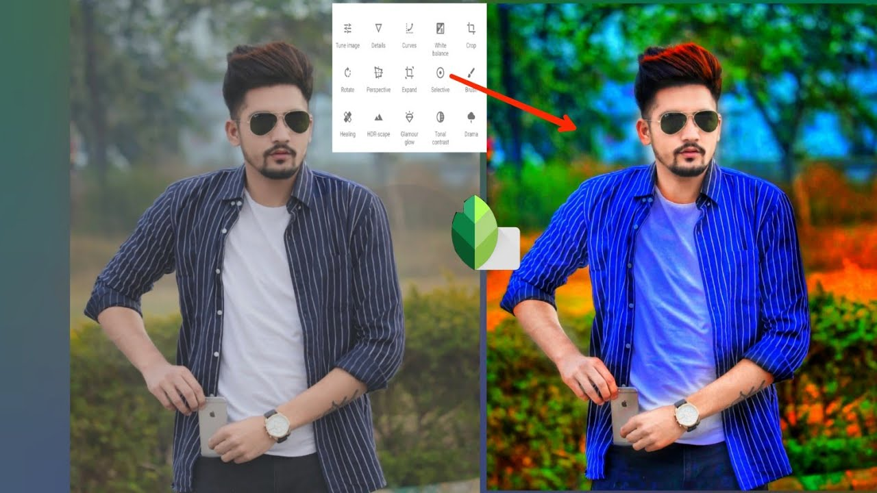 Snapseed best colour effect || heavy photo editing || best Android app  Snapseed pixel editor