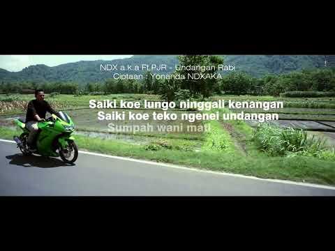 NDX A K A Ft PJR   Undangan Rabi  Terbaru (Comingsoon)