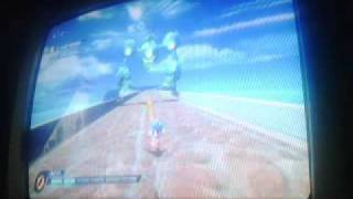 game play from sonic unleashed wii