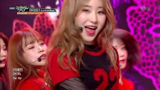 Download lagu 뮤직뱅크 Music Bank - 라비앙로즈(La Vie en Rose) - IZ*ONE (아이즈원).20181102