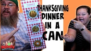 Pringles Thanksgiving Dinner in a Can || Taste Test Tuesday