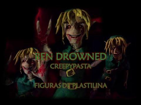 Ben Drowned Creepypasta -  Figura De Plastilina