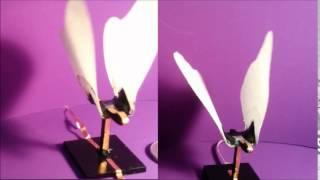 Artificial butterflies made of dielectric elastomer actuators