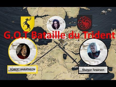 Le Trône de fer - La Bataille du Trident, Rhaegar VS Robert