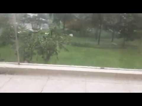 Rain in Ocean Villa