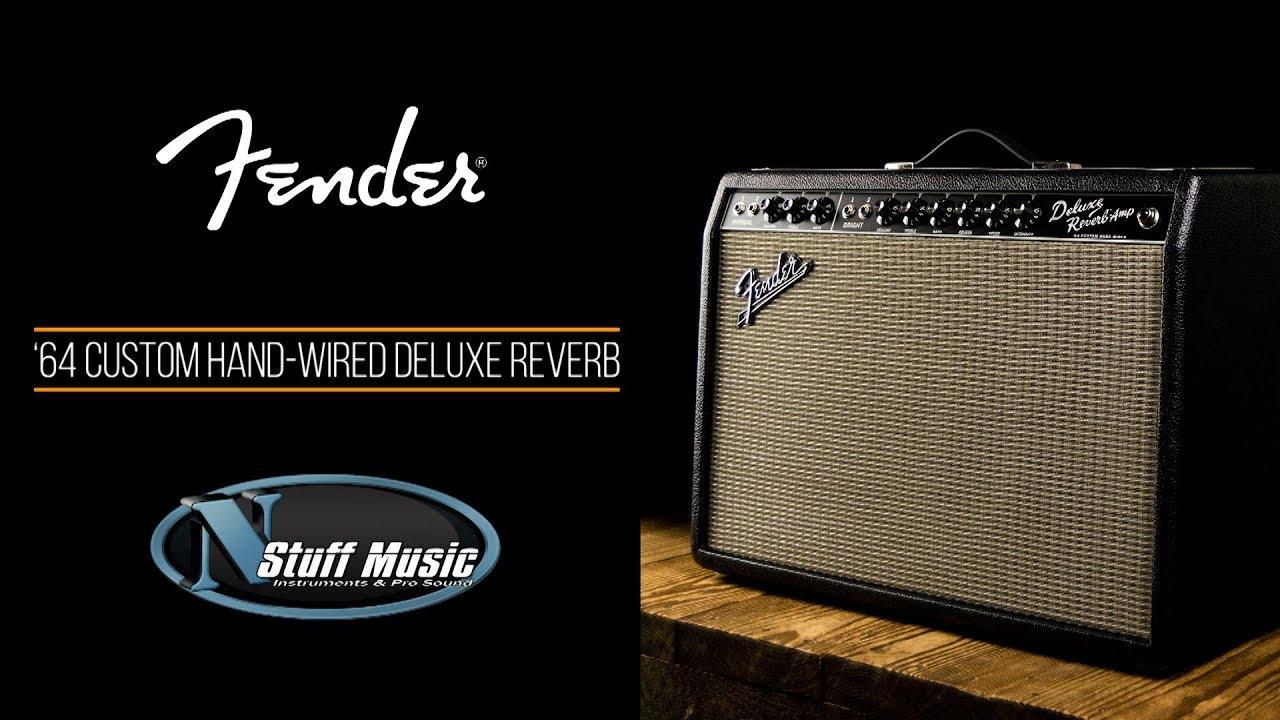 Fender '64 Custom Hand Wired Deluxe Reverb Amp on