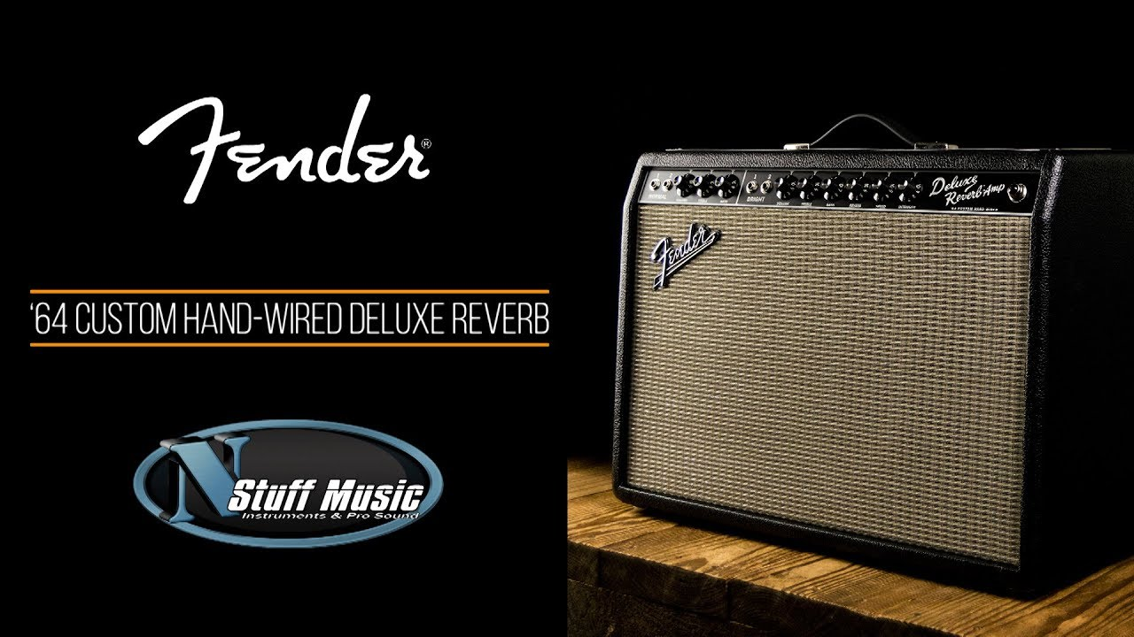 fender 64 custom hand wired deluxe reverb amp [ 1280 x 720 Pixel ]