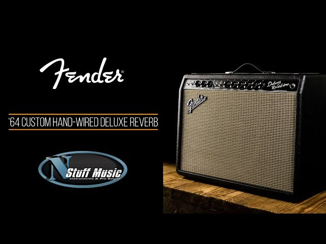 Fender '64 Custom Hand Wired Deluxe Reverb Amp