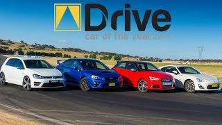 Subaru WRX STI v Volkswagen Golf R v Toyota 86 v Audi S1 DCOTY14