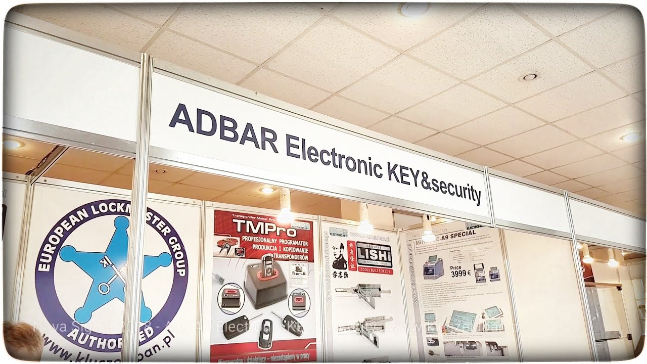 ADBAR ELECTRONIC KEY & security – Targi NOVA SIGMA 2018