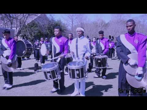 McKinley vs Cane Ridge Drumline Battle (2017)   Tucks Parade