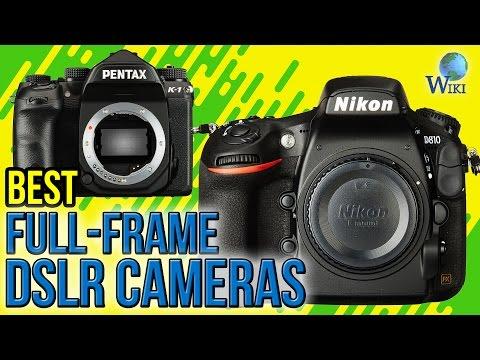 10 best full frame dslr cameras 2017